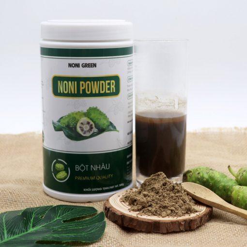bột nhàu Noni Green chai nhựa