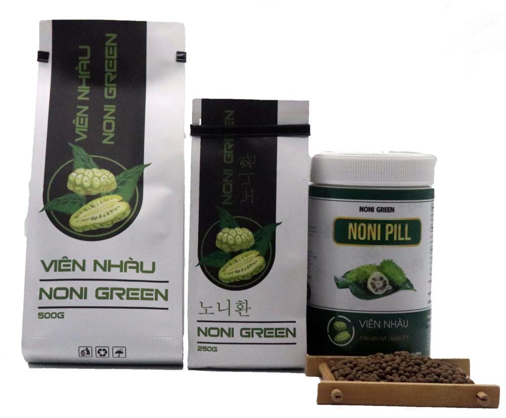 [Giảm Ngay 200k] Set quà tặng Noni Green - 7 sản phẩm từ trái nhàu 2