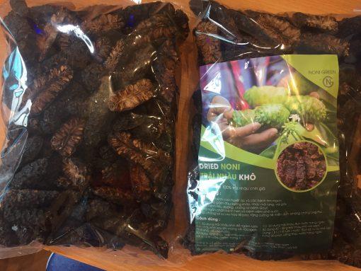 Trái nhàu khô 노니 Noni Green xuất khẩu Hàn Quốc 500g 3