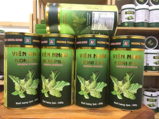 Combo 5 hộp viên nhàu mật ong 노니알 Hương Thanh 4