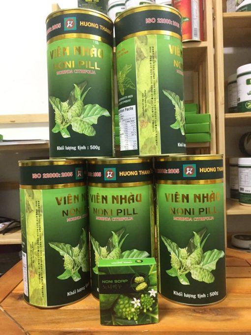 Combo 5 hộp viên nhàu mật ong 노니알 Hương Thanh 2
