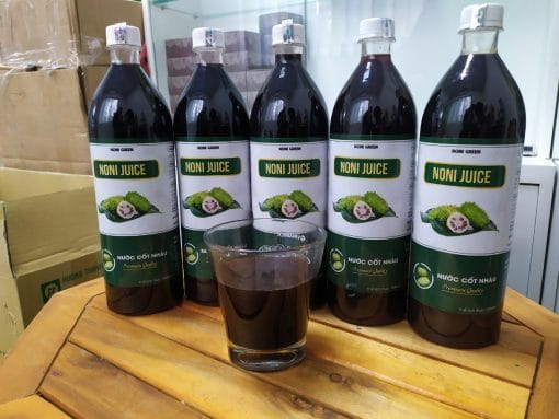 Nước cốt nhàu 노니즙 Noni Green 1000ml 8