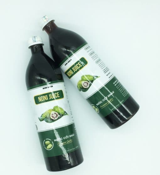 Nước cốt nhàu 노니즙 Noni Green 1000ml 6
