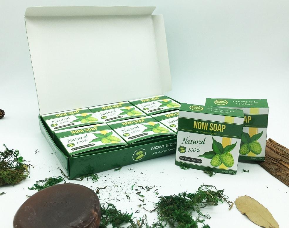 xà bông nhàu noni green soap