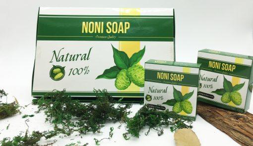 Hộp 6 Bánh Xà Bông Nhàu Noni Green - Organic Noni Soap 5