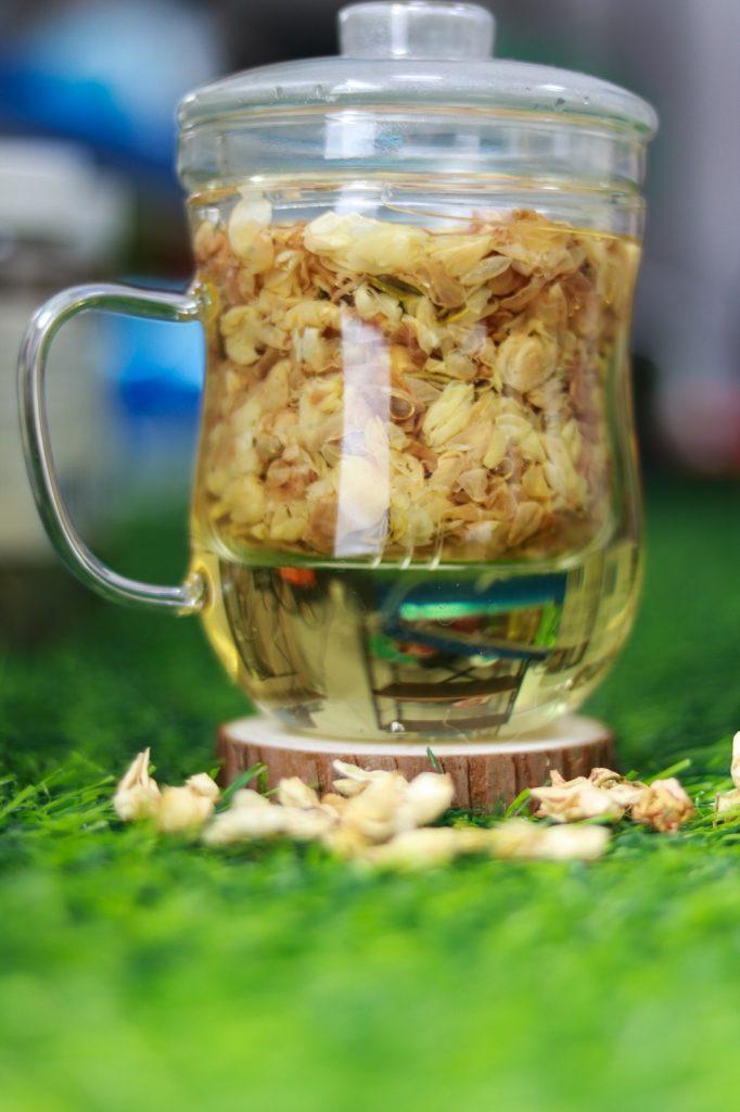 trà hoa nhài khô