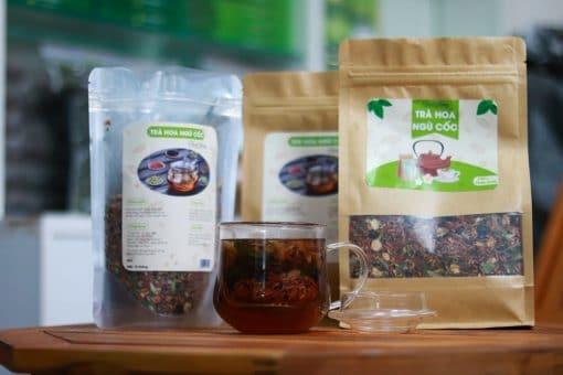 1000g Trà thanh nhiệt, trà hoa ngũ cốc Thanh Hương 6