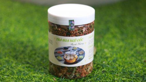 Trà thanh nhiệt trà hoa ngũ cốc hộp 500g (có đậu đỏ) 1