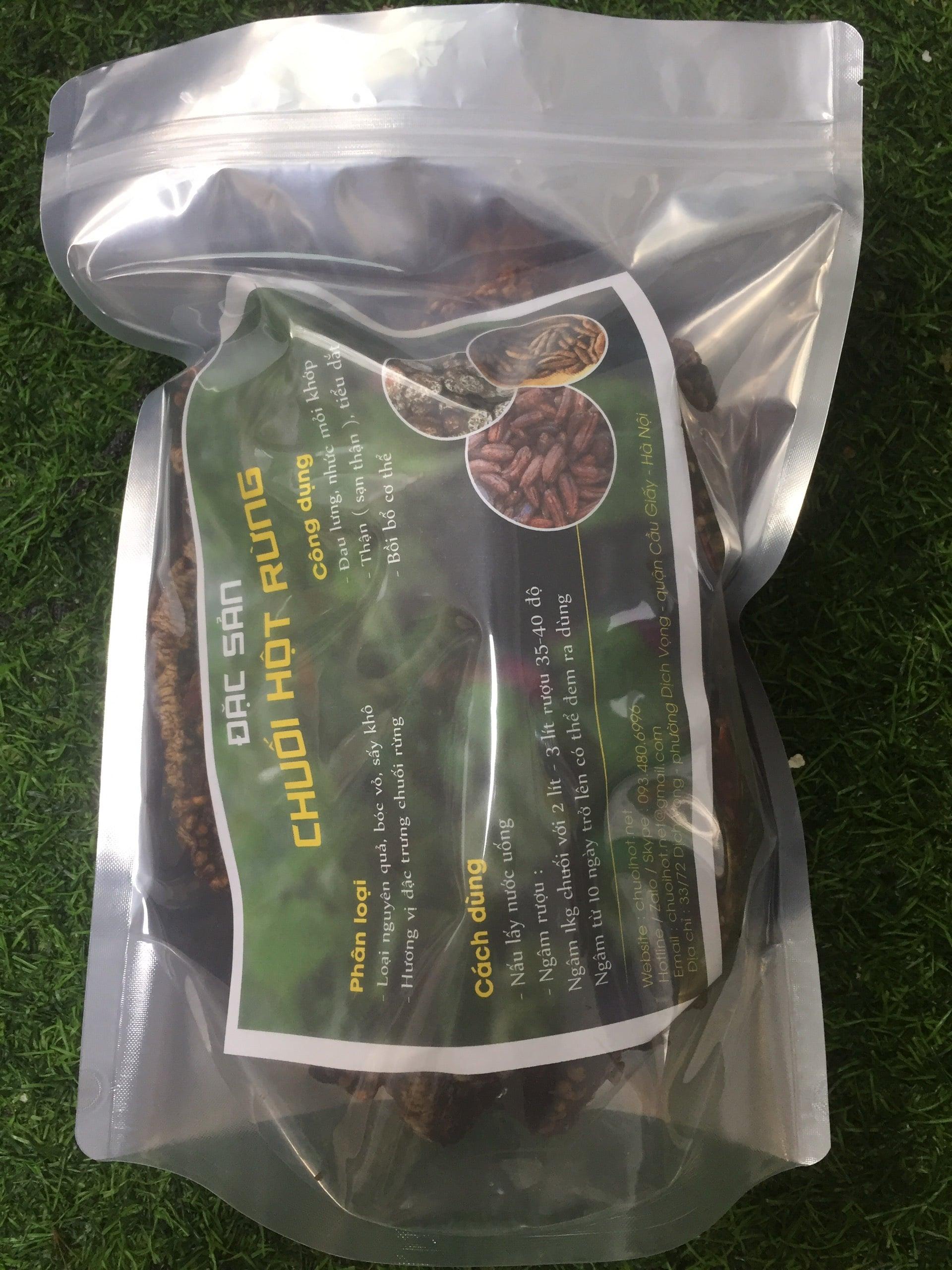 1kg chuối hột ép bánh EcoHealth 9