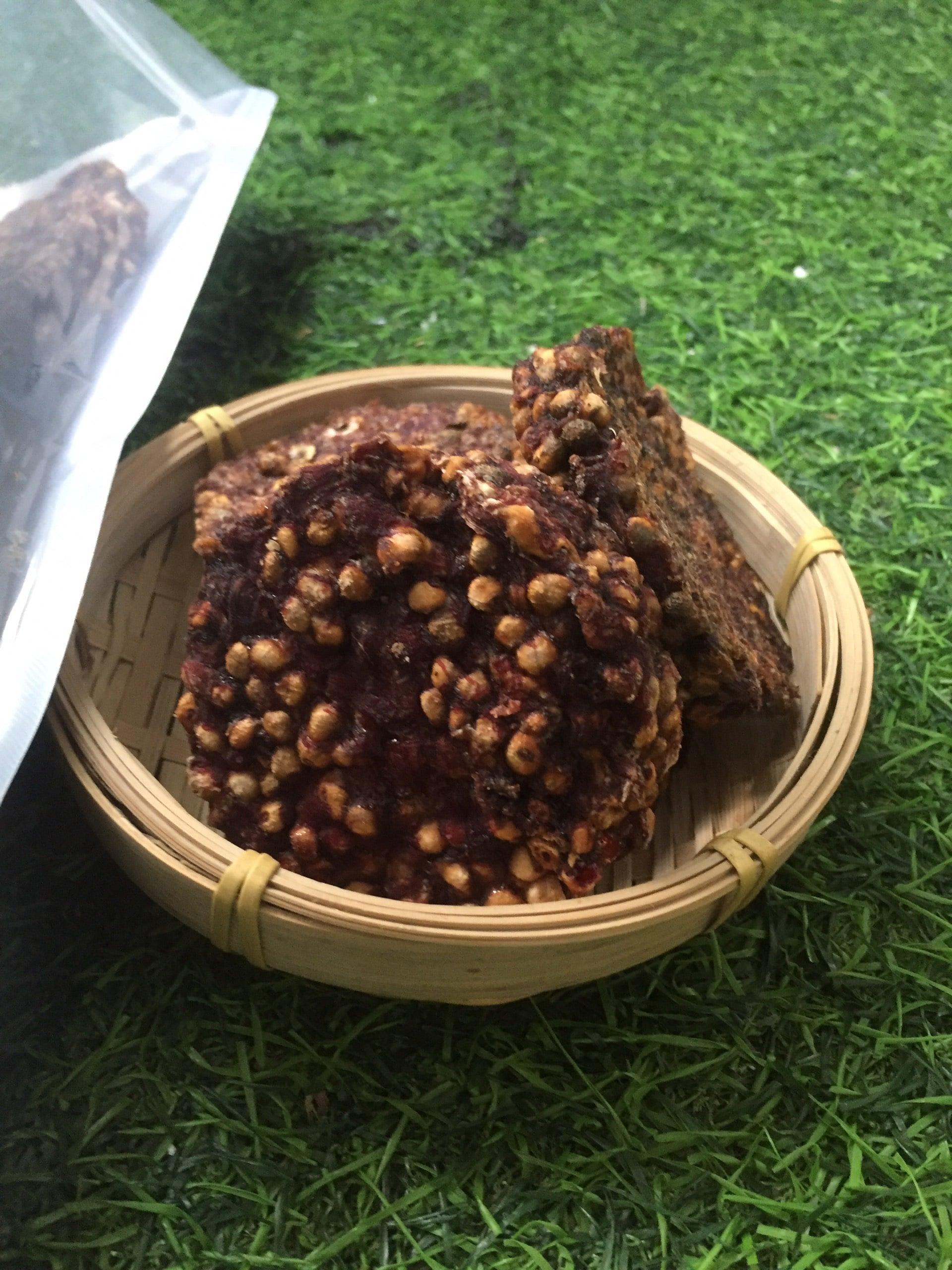 1kg chuối hột ép bánh EcoHealth 10
