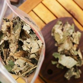 1000g lá sen sấy khô dùng hãm nước, pha trà 2