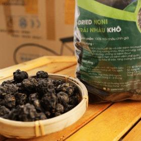 1kg Trái nhàu rừng sấy khô chuyên dùng ngâm rượu 5