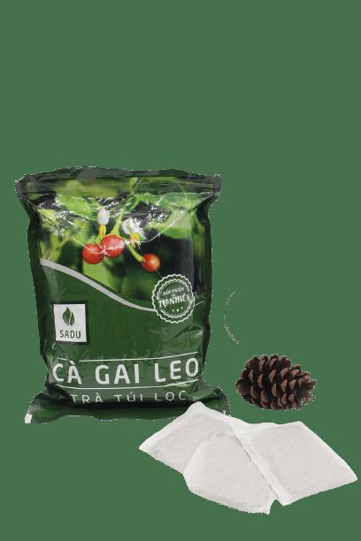1 bịch trà túi lọc cà gai leo Sadu 250g 1