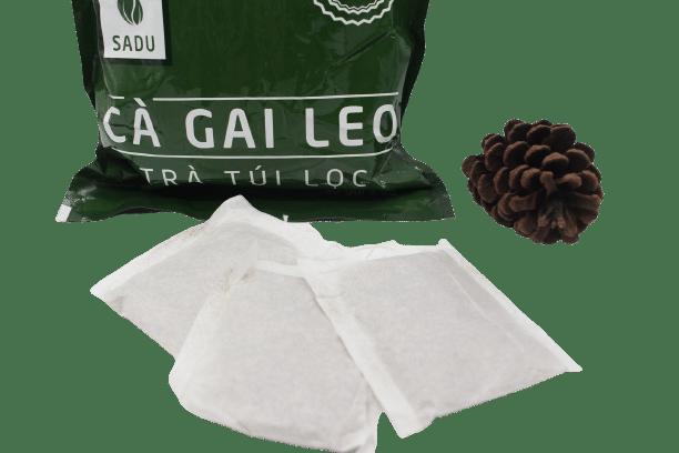 1 bịch trà túi lọc cà gai leo Sadu 250g 7