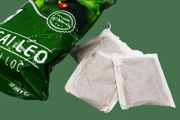 1 bịch trà túi lọc cà gai leo Sadu 250g 6