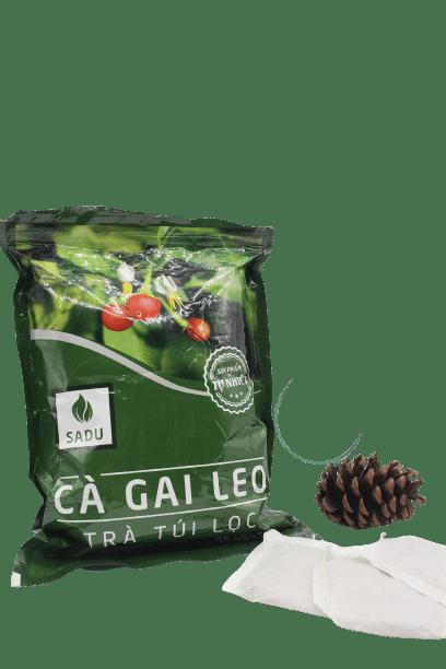 1 bịch trà túi lọc cà gai leo Sadu 250g 4