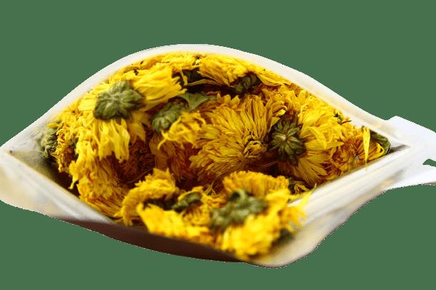 Trà hoa cúc vàng gói 100g 6