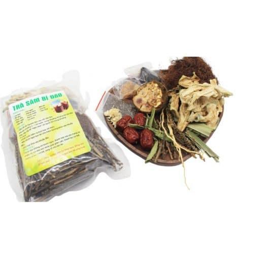 Set nguyên liệu nấu trà sâm bí đao 100g