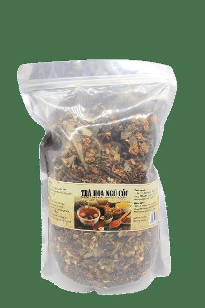1kg Trà hoa ngũ cốc túi zip 8 thành phần 4