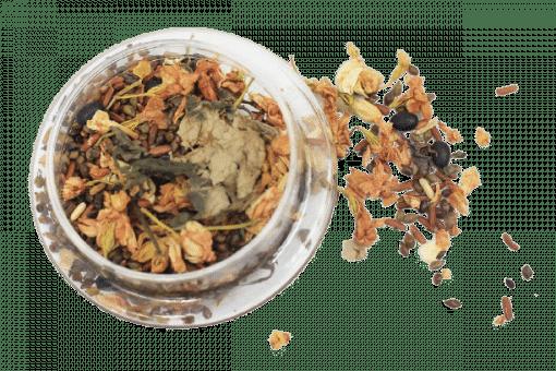 1kg Trà hoa ngũ cốc túi zip 8 thành phần 5