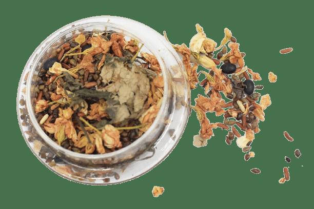 1kg Trà hoa ngũ cốc túi zip 8 thành phần 21