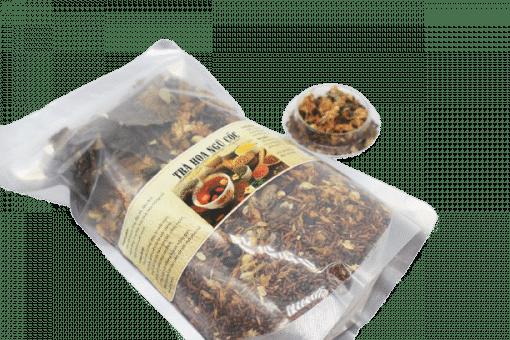 1kg Trà hoa ngũ cốc túi zip 8 thành phần 3