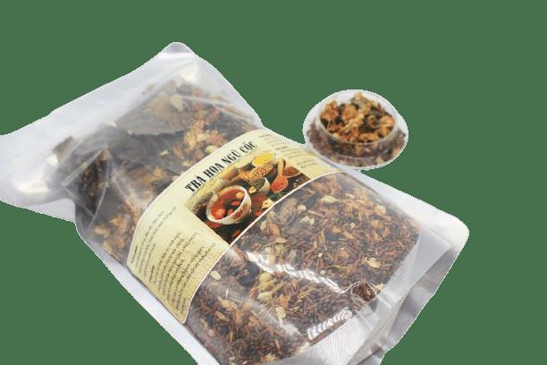1kg Trà hoa ngũ cốc túi zip 8 thành phần 20
