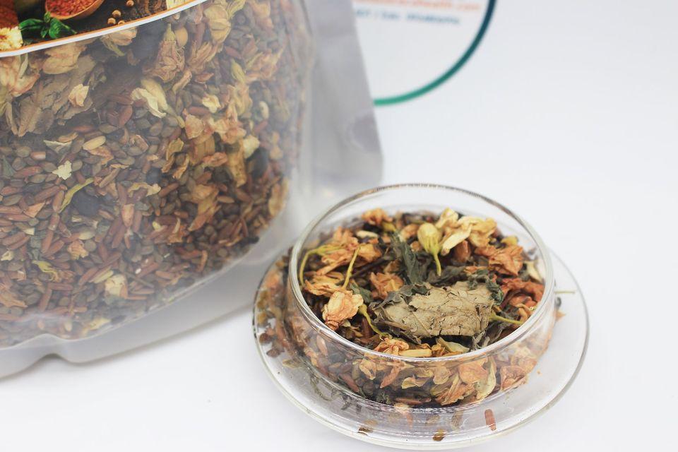 1kg Trà hoa ngũ cốc túi zip 8 thành phần 16