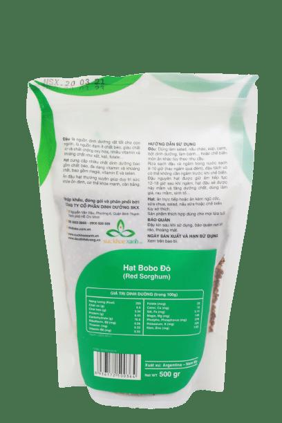 500g hạt bo bo đỏ Ấn Độ 4