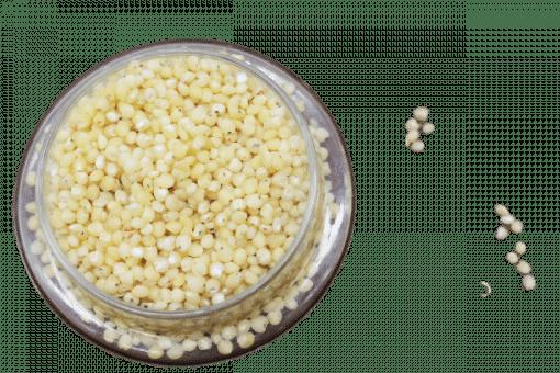 1kg hạt bo bo trắng 8