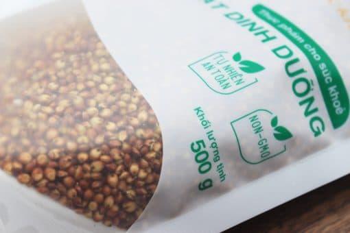 500g hạt bo bo đỏ Ấn Độ 3