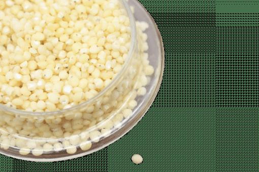 1kg hạt bo bo trắng 10