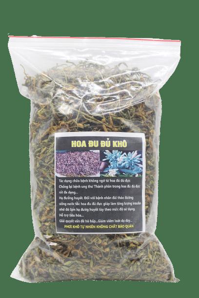 Hoa đu đủ đực phơi khô tự nhiên 4