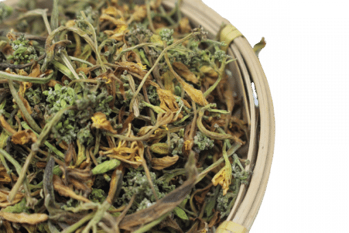 Hoa đu đủ đực phơi khô tự nhiên 10