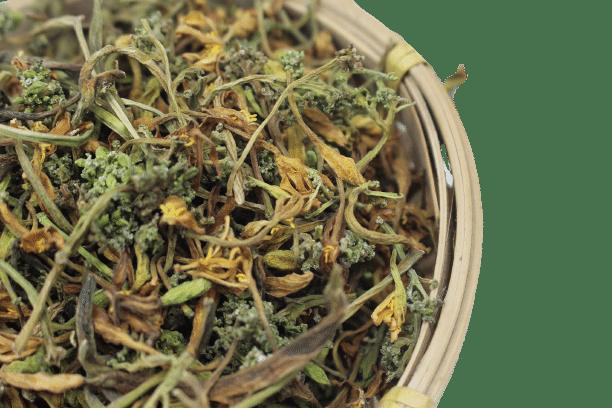 Hoa đu đủ đực phơi khô tự nhiên 16