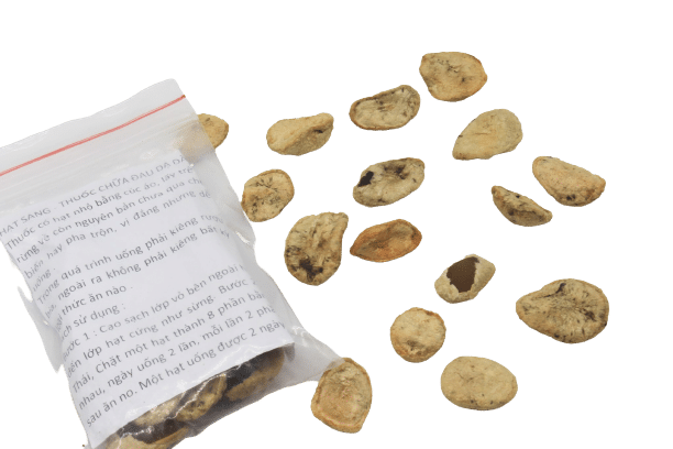 1 hạt sang (hạt sành) chữa bệnh dạ dày, đại tràng 10
