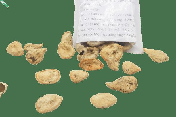 1 hạt sang (hạt sành) chữa bệnh dạ dày, đại tràng 9